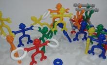 Acróbatas x 40 piezas