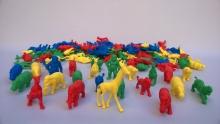 Animales salvajes para conteo x 120
