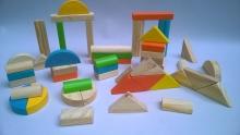 Bloques de construcción x 50 piezas PF