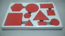 Bloques lógicos plásticos x 60