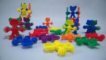 Encastre figuras x 72 piezas