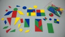 Figuras geométricas x 96 AT