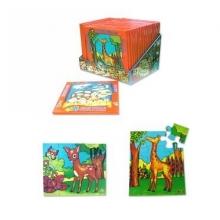 Puzzle 12 piezas Pudú