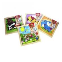 Puzzle 9 piezas Pudú