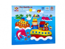 Puzzle Don Rastrillo en el mar
