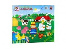 Puzzle Don Rastrillo en la granja