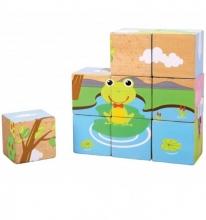 Puzzle en cubos x 9 piezas sky