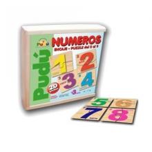 Puzzle números 0 al 9