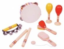 Set de instrumentos musicales x 8 piezas Sky